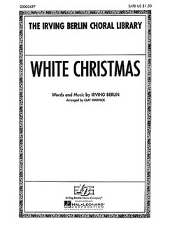 Irving Berlin. arr. Mccarthy: White Christmas (SATB) Books | SATB
