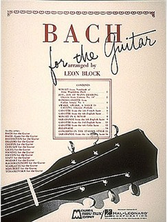 J.S. Bach: Bach for Guitar Books | Guitar