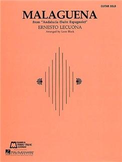 Ernesto Lecuona: Malagueña Books | Guitar