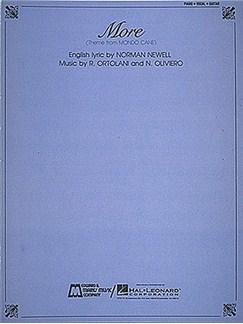 More - Theme From Mondo Cane Books | Piano, Voice