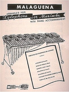 Malaguena (Percussion / Piano / Xylophone / Marimba) Books | Percussion
