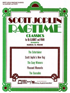 Scott Joplin: Ragtime Classics (Clarinet/Piano) Books | Clarinet, Piano Accompaniment