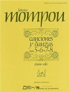 Canciones y danzas - Nos. 5, 6, 7, 8 Books | Piano
