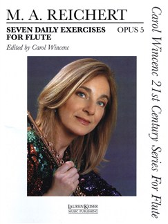 Matthieu André Reichert: 7 Daily Exercises For Flute Books | Flute