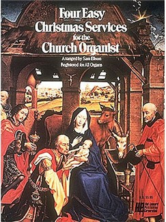Four Easy Christmas Services For The Church Organist Books | Organ