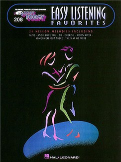 E-Z Play Today Volume 208: Easy Listening Favorites Books | Piano, Piano, Vocal & Guitar