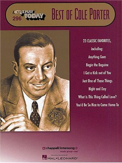 E-Z Play Today 296: Best Of Cole Porter Books | Piano, Voice