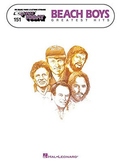 E-Z Play Today 151: Beach Boys Greatest Hits Books | Melody line with lyrics and chord symbols