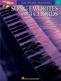E-Z Play Today 1: Song Favorites With 3 Chords (Book and CD) Books and CDs | Keyboard