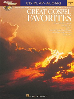 E-Z Play Today 5: Great Gospel Favorites (Book and CD) Books and CDs | Keyboard