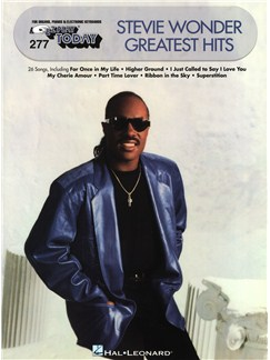 E-Z Play Today Volume 277: Stevie Wonder Greatest Hits Livre | Piano, Chant et Guitare