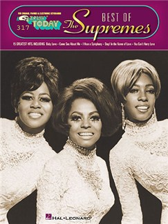 E-Z Play Today 317: The Best Of The Supremes Books | Piano, Vocal & Guitar
