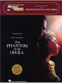 E-Z Play Today 95: Phantom Of The Opera - Movie Selections Books | Melody Line, Lyrics & Chords