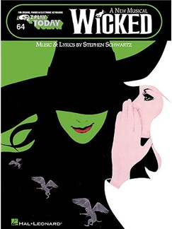 E-Z Play Today 64: Wicked Books | Melody Line, Lyrics & Chords (with Chord Symbols)