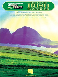 E-Z Play Today 263: The Grand Irish Songbook Books | Melody Line, Lyrics & Chords