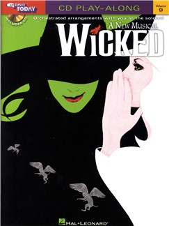 E-Z Play Today 9: Wicked (Book And CD) Books and CDs | Piano