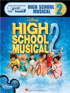 E-Z Play Today 193: Disney's High School Musical 2 Books | Piano