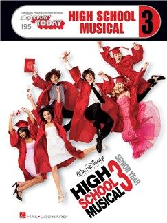 E-Z Play Today: High School Musical 3 Books | Keyboard