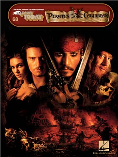 E-Z Play Today: Pirates Of The Caribbean Livre | Clavier