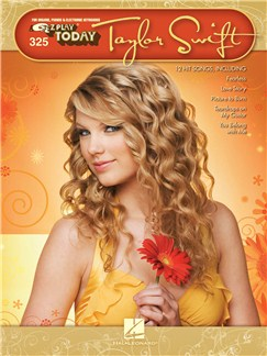 E-Z Play Today Volume 325: Taylor Swift Books | Melody Line, Lyrics & Chords