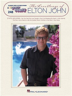 E-Z Play Today Volume 248: The Love Songs Of Elton John Books | Melody Line, Lyrics & Chords