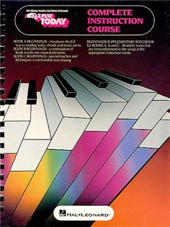 Beginnings For Keyboards - Composite A B C Books | Piano, Vocal & Guitar