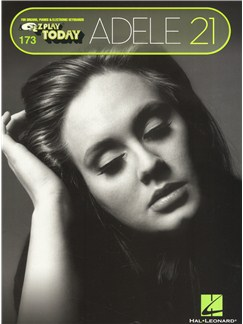 E-Z Play Today 173: Adele 21 Books | Piano