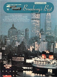 16. Broadway's Best - 2nd Edition Books | Piano, Vocal & Guitar