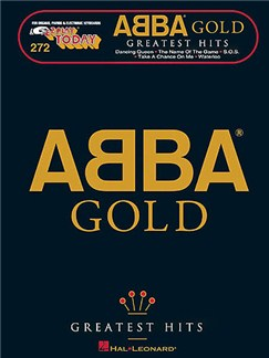 E-Z Play Today 272: Abba Gold Livre | Ligne De Mélodie, Paroles et Accords