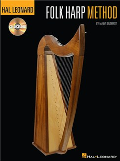 Hal Leonard Folk Harp Method (Book/CD) Books and CDs | Harp
