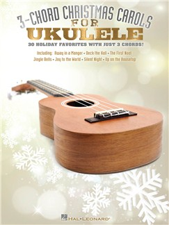 3-Chord Christmas Carols For Ukulele Books | Ukulele