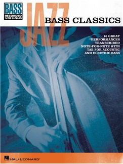 Jazz Bass Classics Books | Bass Guitar