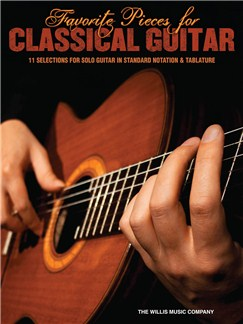 Favorite Pieces For Classical Guitar Books | Guitar, Classical Guitar, Guitar Tab