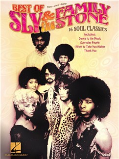 Best Of Sly & The Family Stone: 16 Soul Classics Books | Piano, Vocal & Guitar