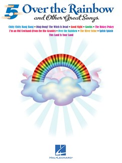 Five Finger Piano: Over The Rainbow And Other Great Songs Books | Piano