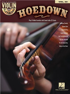Violin Play-Along Volume 33: Hoedown Books and CDs | Violin