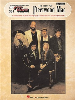 E-Z Play Today 331: The Best Of Fleetwood Mac Books | Melody Line, Lyrics & Chords