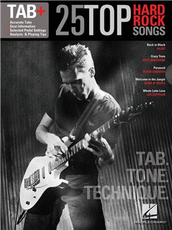 Tab+: 25 Top Hard Rock Songs - Tab. Tone. Technique Books | Guitar, Guitar Tab, Lyrics & Chords