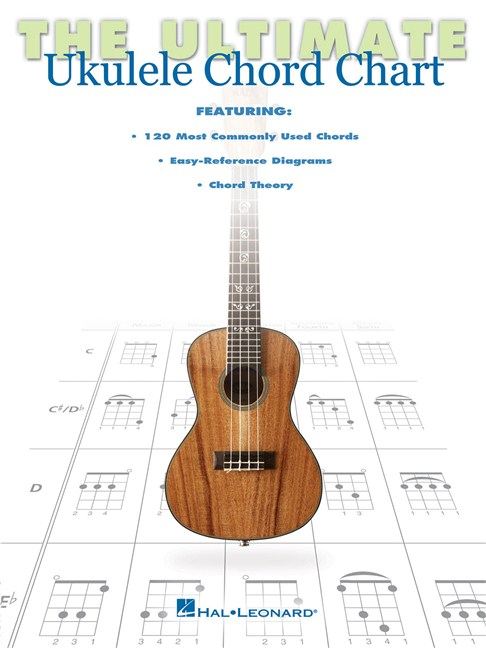 The Ultimate Ukulele Chord Chart - Ukulele Books - Tuition ...