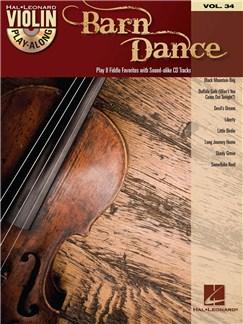 Violin Play-Along Volume 34: Barn Dance Books and CDs | Violin