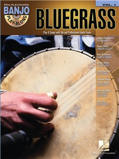 Banjo Play-Along Volume 1: Bluegrass Books and CDs | Banjo, Banjo Tab