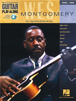 Guitar Play-Along Volume 159: Wes Montgomery (Book/Online Audio) Books and Digital Audio | Guitar