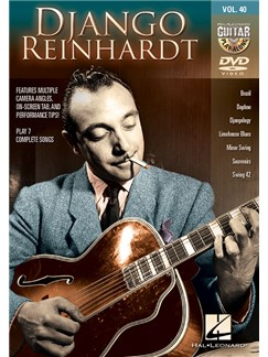Guitar Play-Along DVD Volume 40: Django Reinhardt DVDs / Videos | Guitar Tab