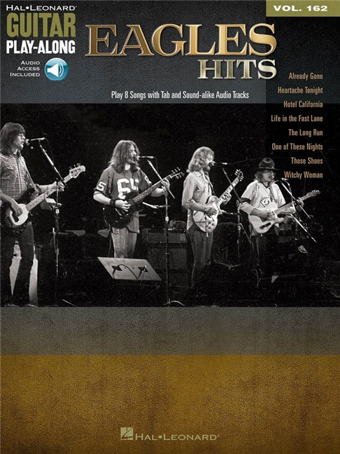 Guitar Play Along Volume 162 The Eagles Hits Bookonline Audio
