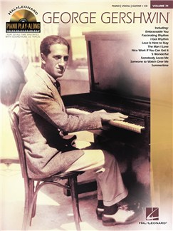 Piano Play-Along Volume 71: George Gershwin Books and CDs | Piano