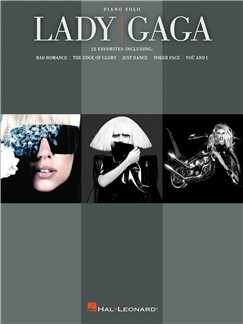 Lady Gaga - Piano Solo Books | Piano