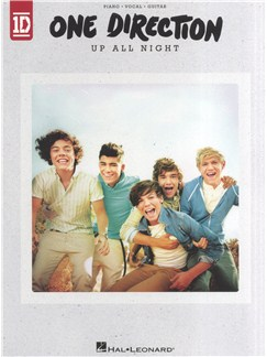 One Direction – Up All Night (Piano/Vocal/Guitar) Livre | Piano, Chant et Guitare