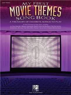 My First Movie Themes Songbook Books | Piano