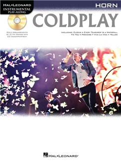 Horn Play-Along: Coldplay CD et Livre | Cor