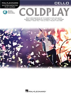 Cello Play-Along: Coldplay (Book/Online Audio) Books and Digital Audio | Cello